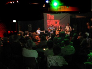 The Shack gigs